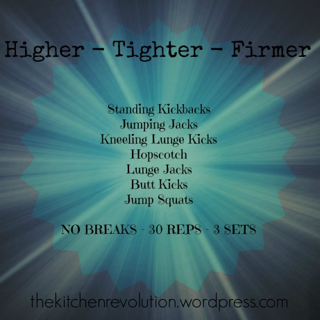 Higher Tighter Firmer
