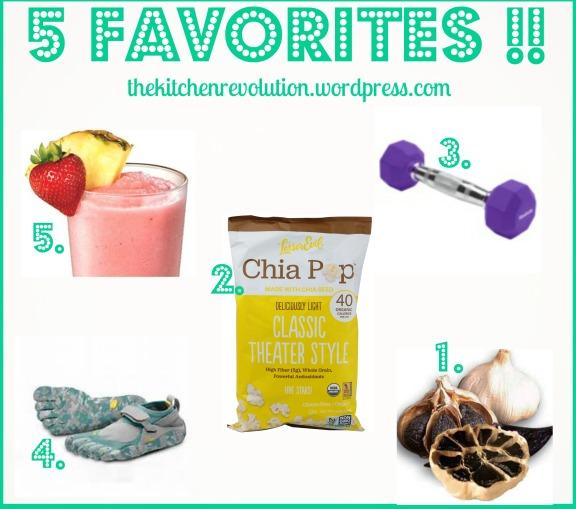 5 Favorites