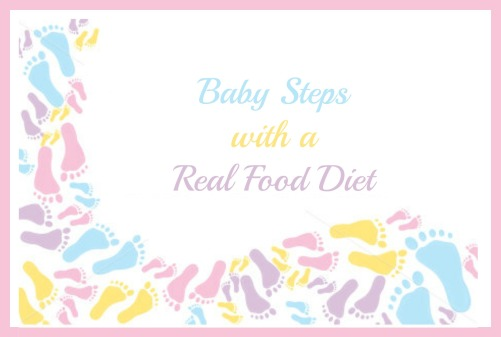 Baby Steps Real Food Diet