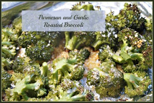 Parmesan Garlic Broccoli