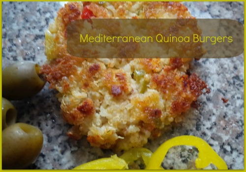Mediterranean Quinoa Burgers